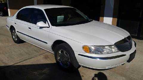 2000 Lincoln Continental for sale at Eastside Auto Brokers LLC in Fort Myers FL