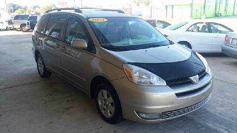 2004 Toyota Sienna for sale at Eastside Auto Brokers LLC in Fort Myers FL