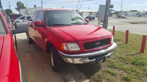 1998 Ford F-150 for sale at Eastside Auto Brokers LLC in Fort Myers FL