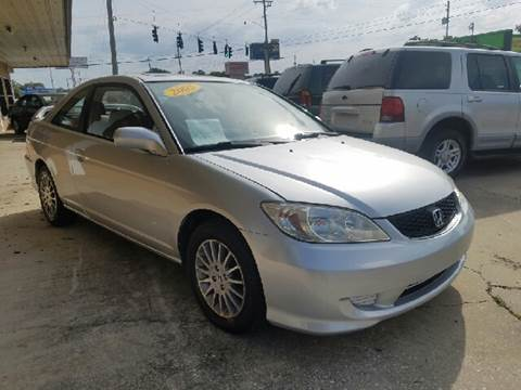 2005 Honda Civic for sale at Eastside Auto Brokers LLC in Fort Myers FL