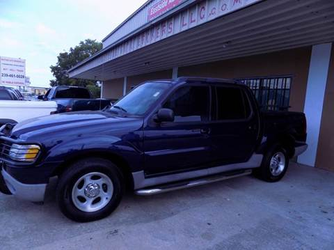 2002 Ford Explorer Sport Trac for sale at Eastside Auto Brokers LLC in Fort Myers FL