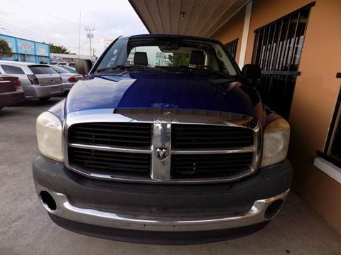 2007 Dodge Ram Pickup 1500 for sale at Eastside Auto Brokers LLC in Fort Myers FL