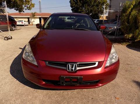 2003 Honda Accord for sale at Eastside Auto Brokers LLC in Fort Myers FL