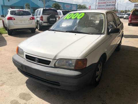 1995 Toyota Tercel for sale at Eastside Auto Brokers LLC in Fort Myers FL