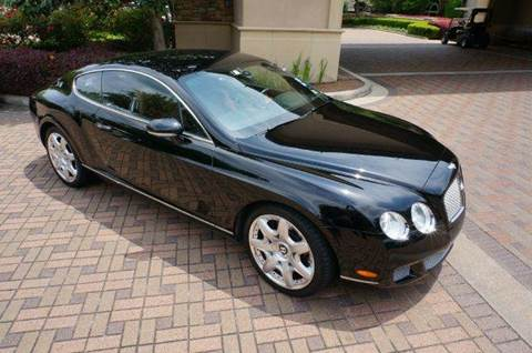 2008 Bentley Continental GT for sale at Cars-yachtsusa.com in League City TX