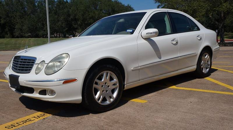 2005 Mercedes-Benz E-Class for sale at Cars-yachtsusa.com in League City TX