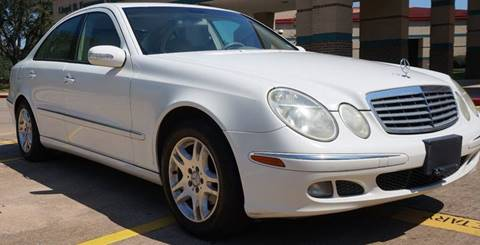 2005 Mercedes-Benz E-Class for sale in Houston, TX