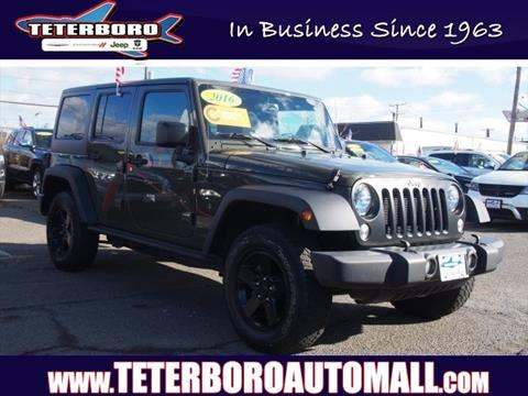 2016 Jeep Wrangler Unlimited for sale in Little Ferry, NJ