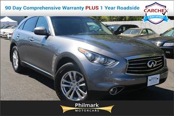 2013 Infiniti FX37 for sale in Camp Springs, MD