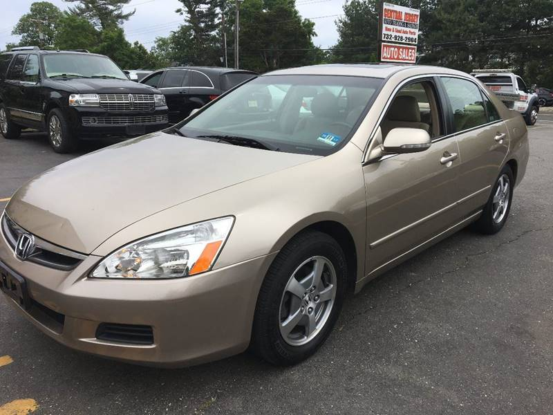 2006 Honda Accord for sale at Central Jersey Auto Trading in Jackson NJ