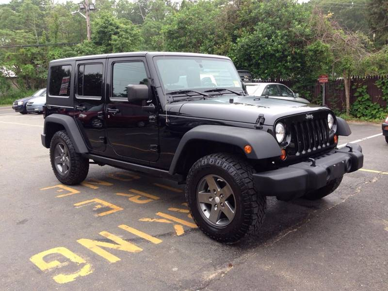 2011 Jeep Wrangler Unlimited for sale at Central Jersey Auto Trading in Jackson NJ