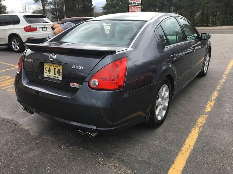 2007 Nissan Maxima for sale at Central Jersey Auto Trading in Jackson NJ