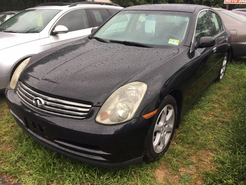 2004 Infiniti G35 for sale at Central Jersey Auto Trading in Jackson NJ