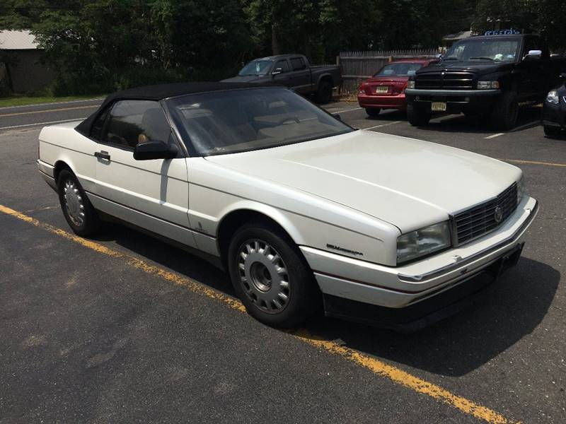 1993 Cadillac Allante for sale at Central Jersey Auto Trading in Jackson NJ