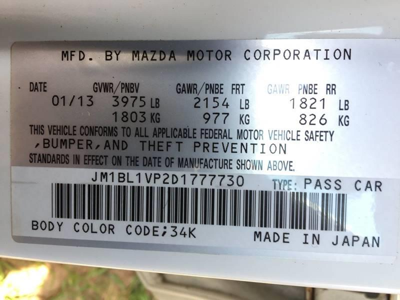 2013 Mazda MAZDA3 for sale at Central Jersey Auto Trading in Jackson NJ