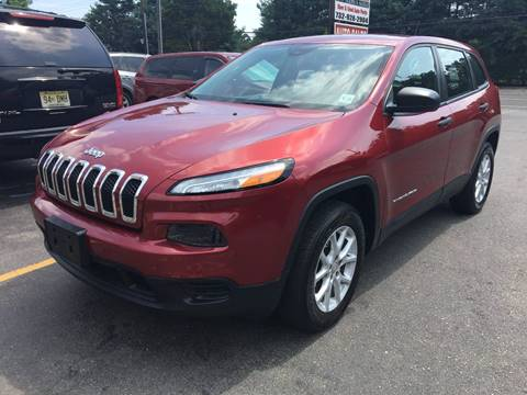 2014 Jeep Cherokee for sale at Central Jersey Auto Trading in Jackson NJ