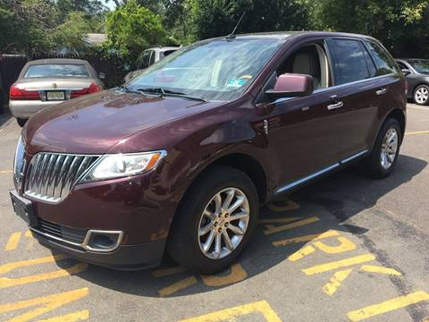 2011 Lincoln MKX for sale at Central Jersey Auto Trading in Jackson NJ