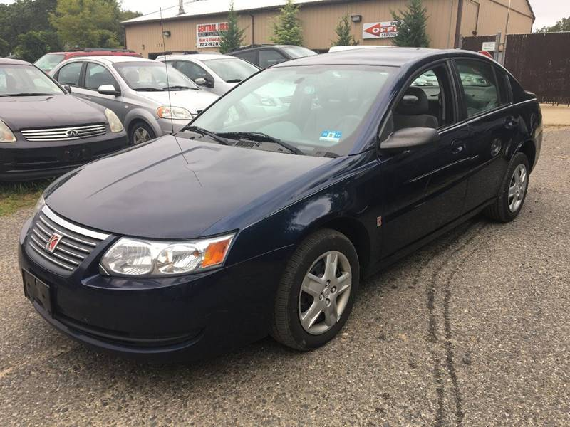 2007 Saturn Ion for sale at Central Jersey Auto Trading in Jackson NJ