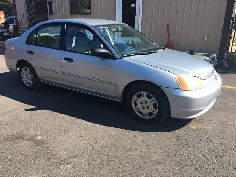 2001 Honda Civic for sale at Central Jersey Auto Trading in Jackson NJ