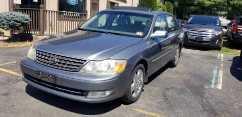2004 Toyota Avalon for sale at Central Jersey Auto Trading in Jackson NJ