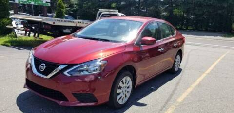 2016 Nissan Sentra for sale at Central Jersey Auto Trading in Jackson NJ