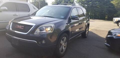 2012 GMC Acadia for sale at Central Jersey Auto Trading in Jackson NJ