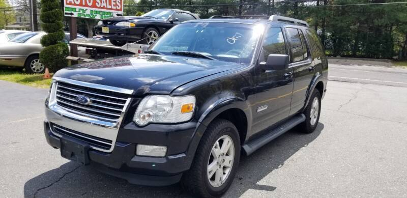 2007 Ford Explorer for sale at Central Jersey Auto Trading in Jackson NJ