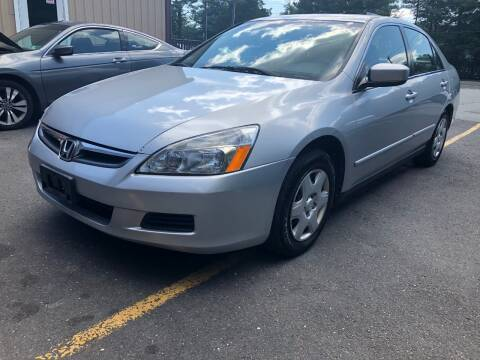 2007 Honda Accord for sale at Central Jersey Auto Trading in Jackson NJ
