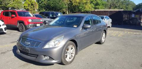 2011 Infiniti G37 Sedan for sale at Central Jersey Auto Trading in Jackson NJ