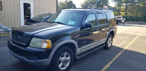 2002 Ford Explorer for sale at Central Jersey Auto Trading in Jackson NJ