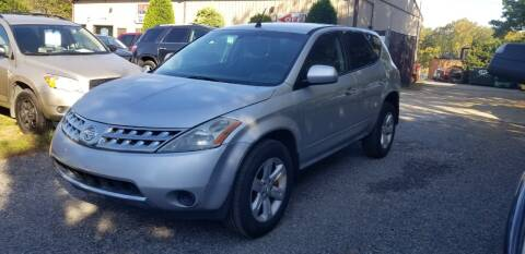 2006 Nissan Murano for sale at Central Jersey Auto Trading in Jackson NJ