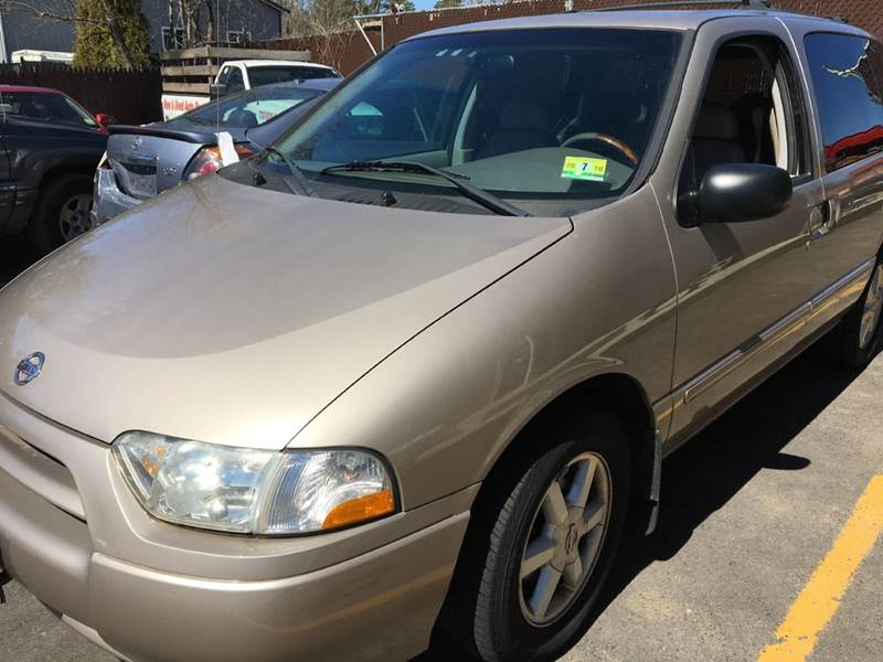 2002 Nissan Quest for sale at Central Jersey Auto Trading in Jackson NJ