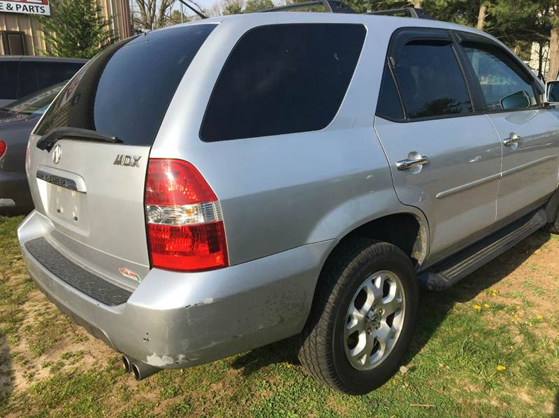 2002 Acura MDX for sale at Central Jersey Auto Trading in Jackson NJ