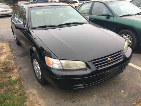 1998 Toyota Camry for sale at Central Jersey Auto Trading in Jackson NJ