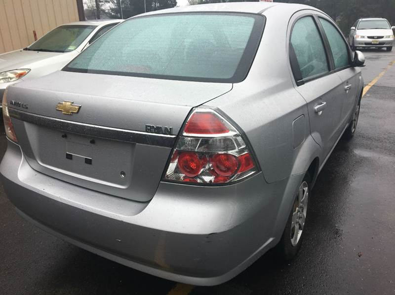 2007 Chevrolet Aveo for sale at Central Jersey Auto Trading in Jackson NJ