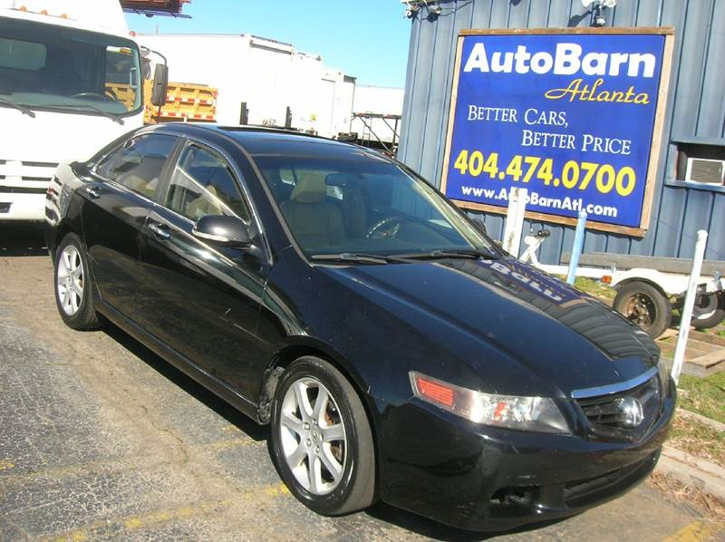 2004 acura tsx 4dr sedan in marietta ga auto barn