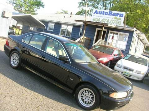 2002 BMW 5 Series for sale in Marietta, GA