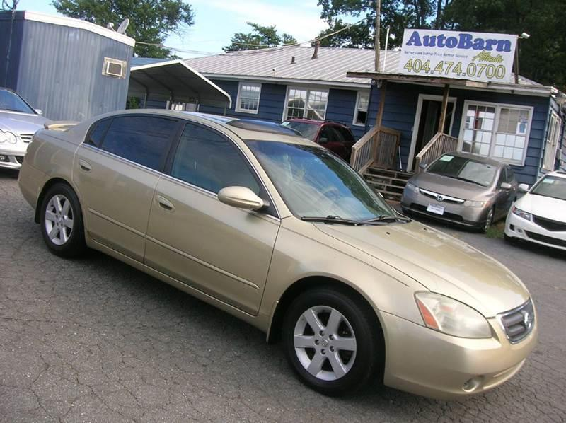 Good 2003 Nissan Altima 2.5 S 4dr Sedan   Marietta GA