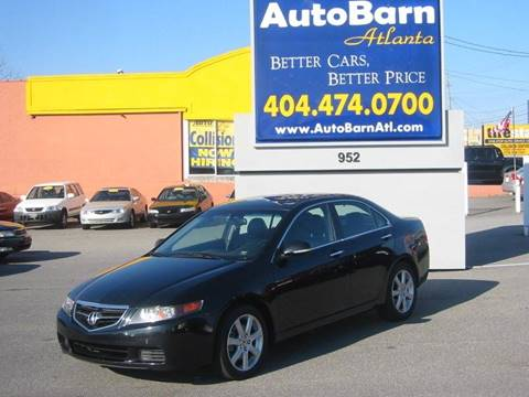 Acura Used Cars Pickup Trucks For Sale Marietta Auto Barn - Acura 2004 tl price