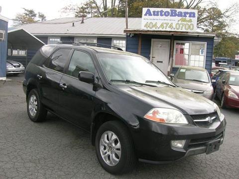 Acura MDX For Sale In Georgia Carsforsalecom - Acura mdx 2003 for sale