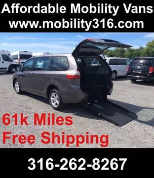 2016 Toyota Sienna for sale in Wichita, KS