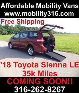 2018 Toyota Sienna for sale in Wichita, KS