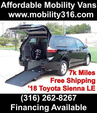 2018 Toyota Sienna for sale in Wichita, KS