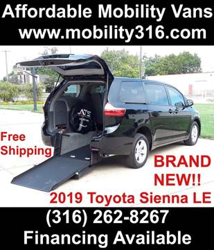 2019 Toyota Sienna for sale in Wichita, KS
