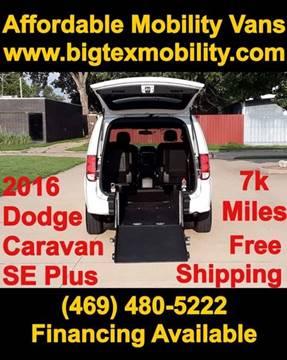 2016 Dodge Grand Caravan for sale in Dallas, TX