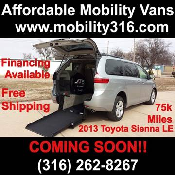 2013 Toyota Sienna for sale in Wichita, KS