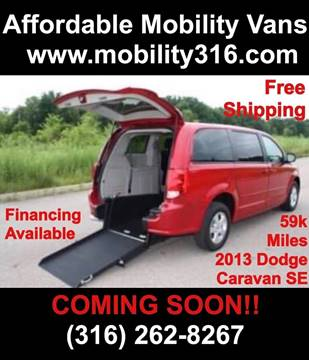 2013 Dodge Grand Caravan for sale in Wichita, KS