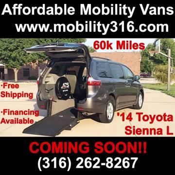 2014 Toyota Sienna for sale in Wichita, KS