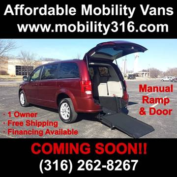 2019 Dodge Grand Caravan SXT for sale at Affordable Mobility Solutions - Mobility/Wheelchair Accessible Inventory-Wichita,KS in Wichita KS