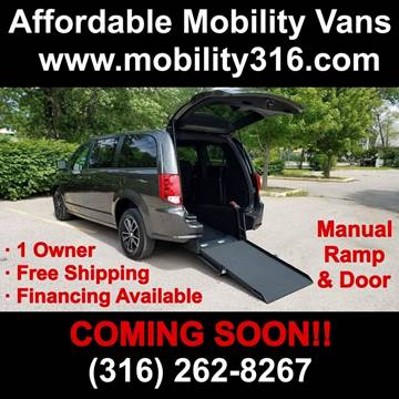 2019 Dodge Grand Caravan SE Plus for sale at Affordable Mobility Solutions - Mobility/Wheelchair Accessible Inventory-Wichita,KS in Wichita KS